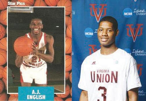 There's a common thread between one of Virginia Union University's all-time basketball greats and its current leading man. Both A.J. ...
