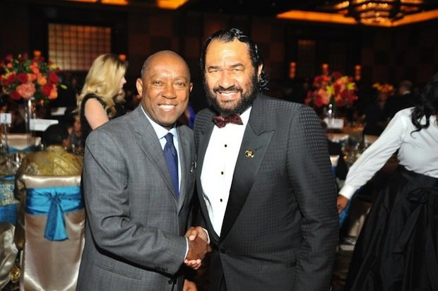 Mayoral Candidate Sylvester Turner and Congressman Al Green
