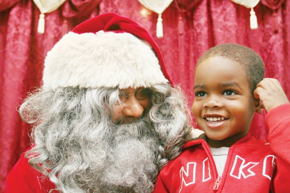 Santa with Soul is making his annual visit to the Black History Museum and Cultural Center of Virginia in Jackson ...