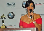 Frances Cuesta, CEO of Reinvent U Boot Camp, LLC was honored as the Entrepreneur of the Year for Excellence in Physical Fitness & Wellness.