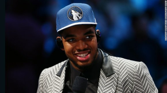 When 19-year-old Karl-Anthony Towns needed to pick out an outfit for the biggest night of his life, he knew just ...