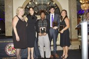 SAO staff receive the Mark Cohen Award, Alex Yankalove Award, and the Patsy Price Award. Winter Solstice 2015.