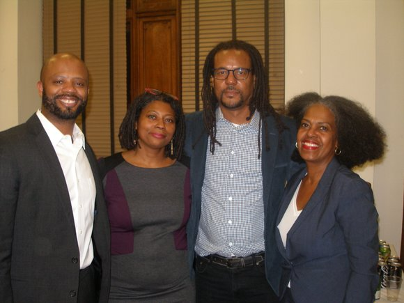 Author Colson Whitehead graced City College of New York in a lecture and conversation with Dr. R. L'Heureux Lewis-McCoy.