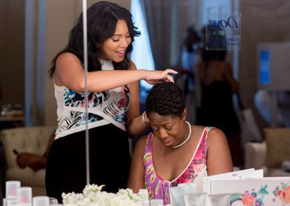 Celebrity Hair Stylist Cynthia Alvarez's clientele includes the likes of singer/actress KeKe Palmer and singer, model and actress Tatyana Ali.