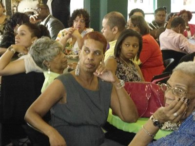 """Guests partied at the """"Lady M"""" Fundraiser."""
