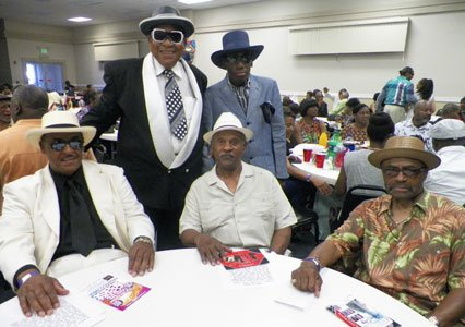 Guests at the Forest Park Senior Center R&B Show