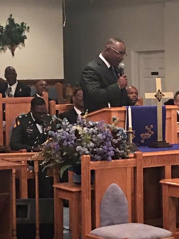 Pastor Larry Wright was talking to his small eastern North Carolina congregation about the senseless deaths in his community when ...