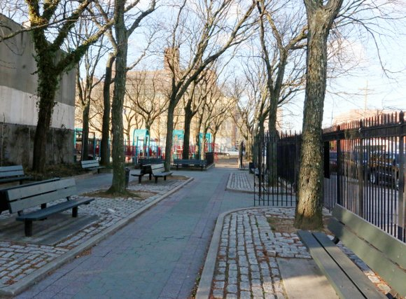 Charges have been dropped against five teenagers connected with a woman's alleged gang rape at gunpoint in a Brooklyn playground, ...
