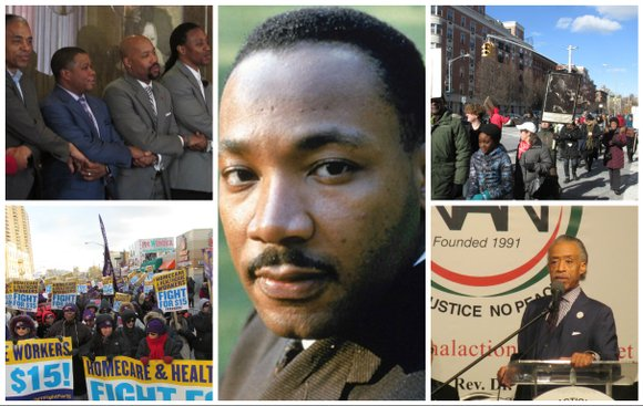 Here are some events happening around the city on Martin Luther King Day
