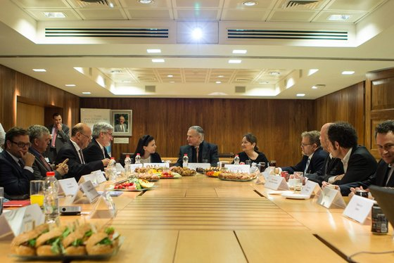 Governor Greg Abbott today attended a luncheon hosted by the Israeli Consulate of the Southwest to discuss investment, economic development ...