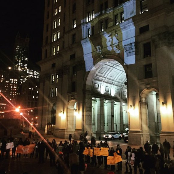 Dozens of youth and student organizations from across New York City convened outside of the office of U.S. Attorney Preet ...