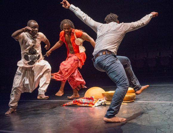 """Specially commissioned for BAM Fisher (Dec. 2 to 5), Souleymane """"Solo"""" Badolo's """"Yimbegre"""" is a dance for men and a ..."""