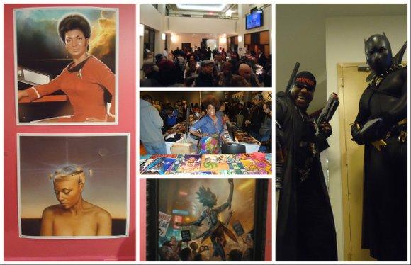 The Schomburg Center held the fourth annual Black Comic Book Festival last Saturday.