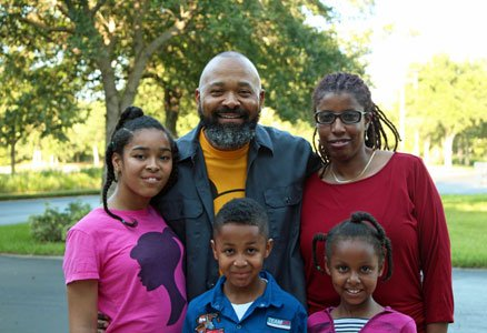 Adoption was something Derwin Penson and his wife Wendy considered only in passing a long time ago.