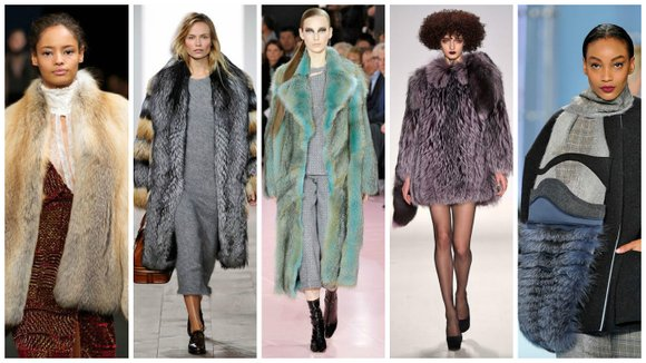 For furs this season, the bigger the fur the better, especially if you are out and about in this often ...