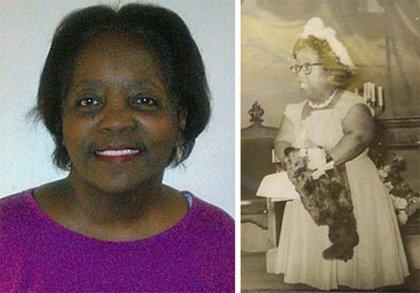 Black doll collector Deborah Johnson