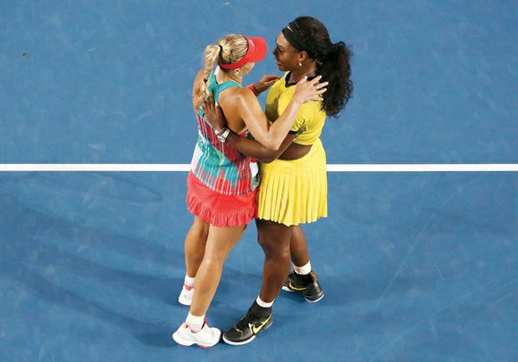 MELBOURNE, AUSTRALIA Serena Williams' relaxed outlook on life spilled over even in defeat last Saturday when she appeared to be ...