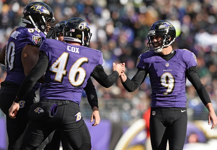 The Baltimore Ravens have benefited from having a familiar trio on special teams over the last few seasons. Justin Tucker ...