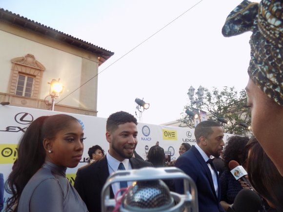 """Reports indicate that """"Empire"""" star Jussie Smollett was the victim of apparent homophobic and racial attack that landed him in ..."""