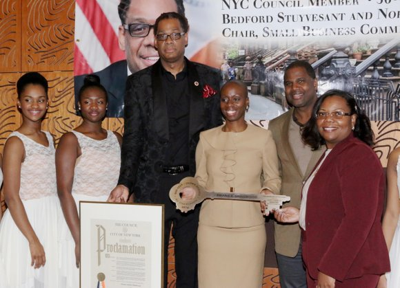 One hundred and fifty guests attended the Bedford-Stuyvesant/Crown Heights All-Star Reunion Awards Ceremony, which was hosted by Council Member Robert ...