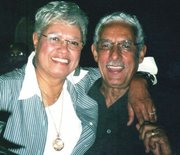 Juanita and husband Grofton Brown. Juanita is the former co-owner of the Sportsmen's Lounge.