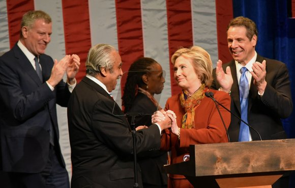 Presidential candidate Hillary Clinton was on message in Harlem on Tuesday, and the centerpiece of her objective of tearing down ...