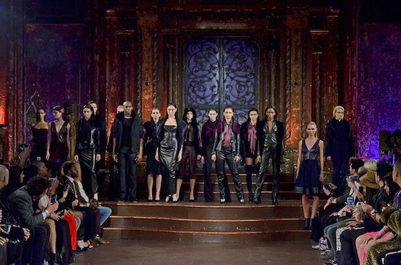 Fashion platform Art Hearts Fashion's finale showcase brought couture, streetwear and ready-to-wear to the runway, saying goodbye to NYFW after ...