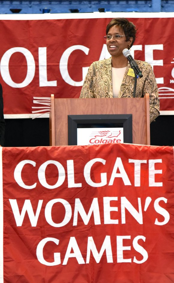 The Colgate Women's Games is the nation's largest amateur track series in the United States.