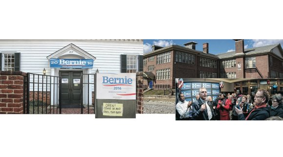 Bernie Sanders and Hillary Clinton each have opened campaign offices in Richmond ahead of the upcoming Virginia presidential primary Tuesday, ...