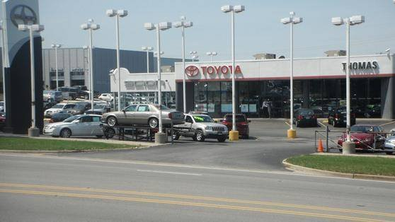 A Joliet official has confirmed that Thomas Toyota on Larkin Ave. will moved to Romeoville once a new dealership there ...