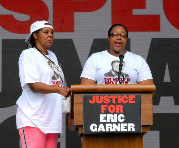 Esaw and Emerald Garner