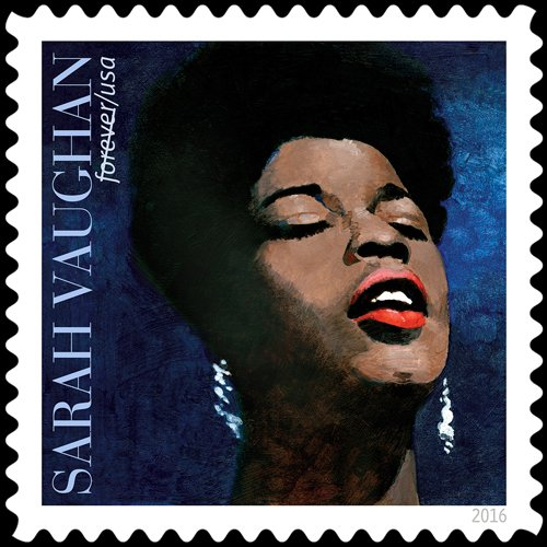The US Postal Service is honoring jazz singer Sarah Vaughan with a forever stamp set for unveiling in Newark, N.J. ...