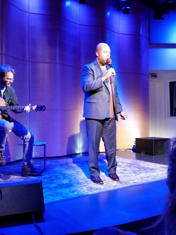 There were about 50—give or take—of us sitting in the intimate room of the Greene Space earlier this month.