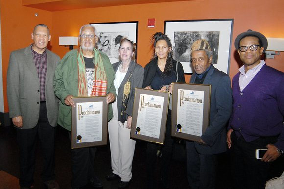 In celebration of Black History Month, the work of Harlem photographers was recognized during a reception in their honor Monday, ...
