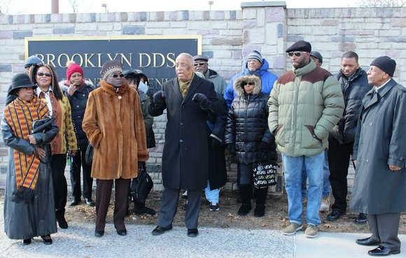 Assemblyman Charles Barron and several other community members organized a press conference in front of the Brooklyn Developmental Center in ...