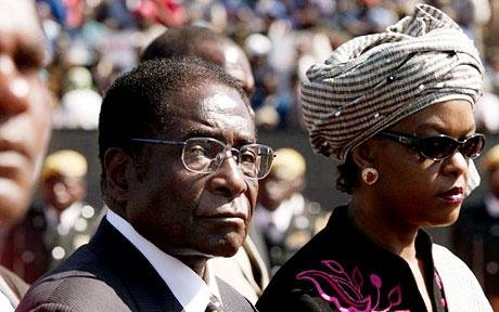 Zimbabwe President Robert Mugabe puts an end to foreign diamond exploiters.