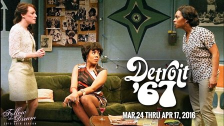 The Ensemble Theatre presents Detroit '67 by Dominique Morisseau and directed by Eileen J. Morris, with Opening Night and Media ...