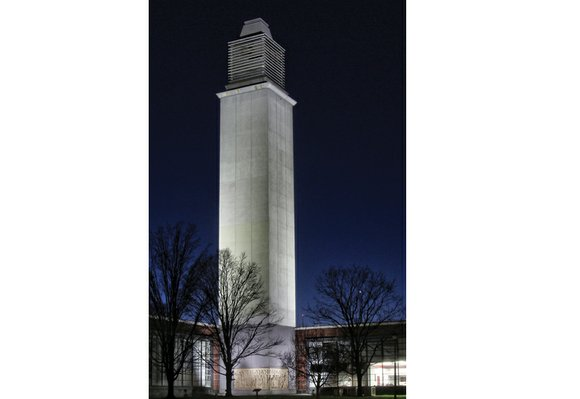 Virginia Union University now has a brighter profile on the city's skyline. The landmark Vann Memorial Tower at the Belgian ...