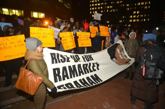 Tuesday afternoon, April 12—what would have been Ramarley Graham's 23rd birthday—a diverse assortment of activists displayed the power of the ...