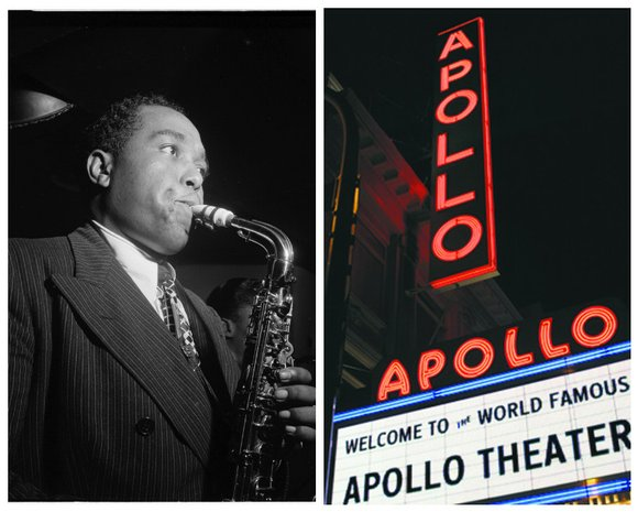 """The Apollo Theater is inducting jazz saxophonist, Charlie """"Yardbird"""" Parker, into the Apollo Walk of Fame"""