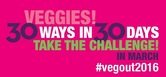 Recipe for Success Foundation's 2016 VegOut! Challenge 30 ways in 30 Days is making eating veggies a deliciously healthy, fun ...