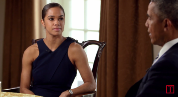 Time Magazine brought prima ballerina Misty Copeland and President Barack Obama together during Women's History Month and the results were ...