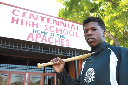 While many young Black men use their athletic talents for football and basketball, Centennial High School senior Edward Macon detoured ...