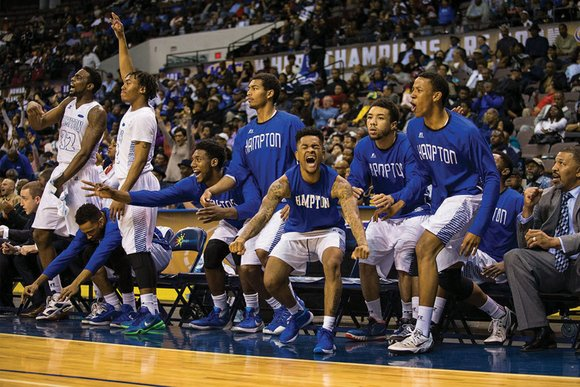 Of 68 teams chosen for the NCAA, Division I, basketball tournament, Hampton University has drawn one of the most challenging ...