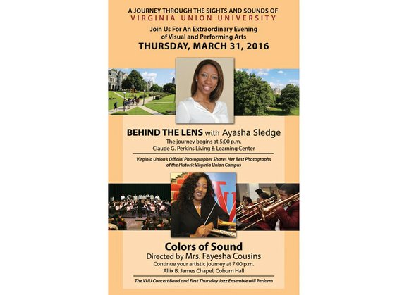 """Virginia Union University is hosting a night of visual and performing art Thursday, March 31, with the theme """"A Journey ..."""