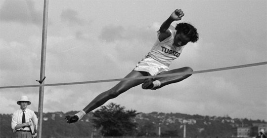 Alice Coachman displayed natural athletic abilities growing up in the 1920s, beating the boys in foot races and other athletic ...