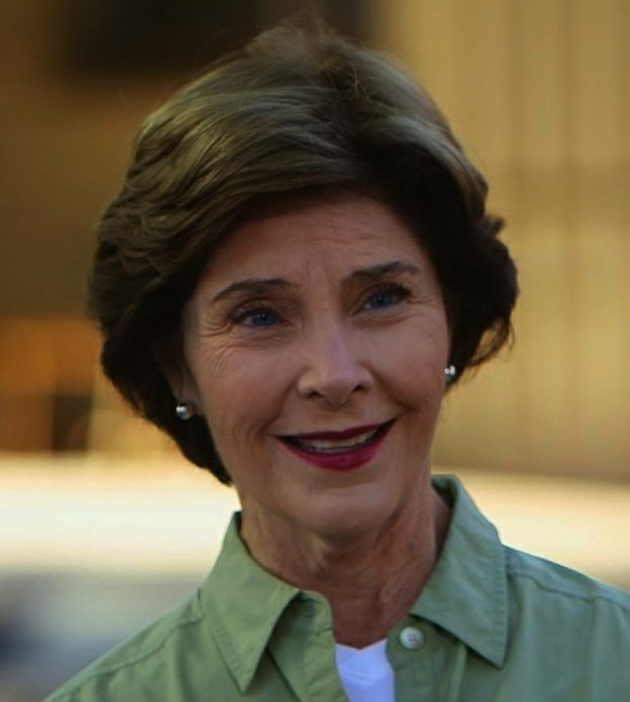 Former first lady Laura Bush declined to say if she would vote for Republican presidential front-runner Donald Trump's presidential bid ...