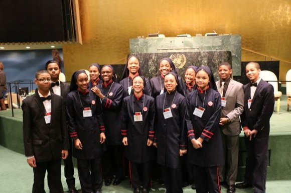For the second year in a row, students from Muhammad's University of Islam in Chicago attended the National High School ...