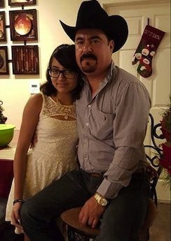 A 14-year-old Texas girl whose father was shot and burned died of multiple gunshot wounds, according to the coroner's case ...