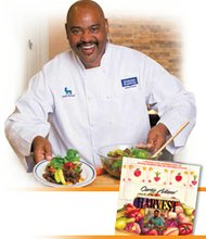 """Celebrity Chef Curtis Aikens will bring his Building A Better Community program to the Compton Youth Activities League (YAL) March 24 from 4-6 p.m. at 700 N. Alameda St. in Compton. The event will kick off a weekly program that teaches youth ages 7-17 the abc's of nutrition, as well as the economics of growing and selling food, gardening, and cooking. Young people will attend the free program from 3-7 p.m. once a week, and in the proceess will take field trips, learn problem solving, leadership, cooperation and the importance of giving back. Ulimately the program will """"grow the kids"""" as it teaches participants how to harvest food of their own. The program will be managed by Chef Aikens and Stuart Farber, Ph.D., an psychologist who specializes in working grassroots organizations. Contact the Compton YAL at (310) 668-4203."""